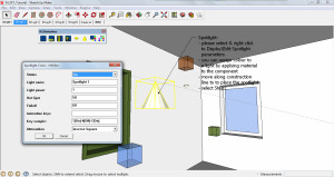 Kerkythea Sketchup plug-in Tutorial Screen Capture